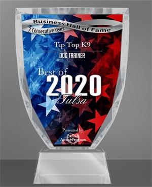 Tip Top K9 Reviews Hall Of Fame Award 2020